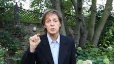 Watch Paul McCartney rap for meat-free Mondays