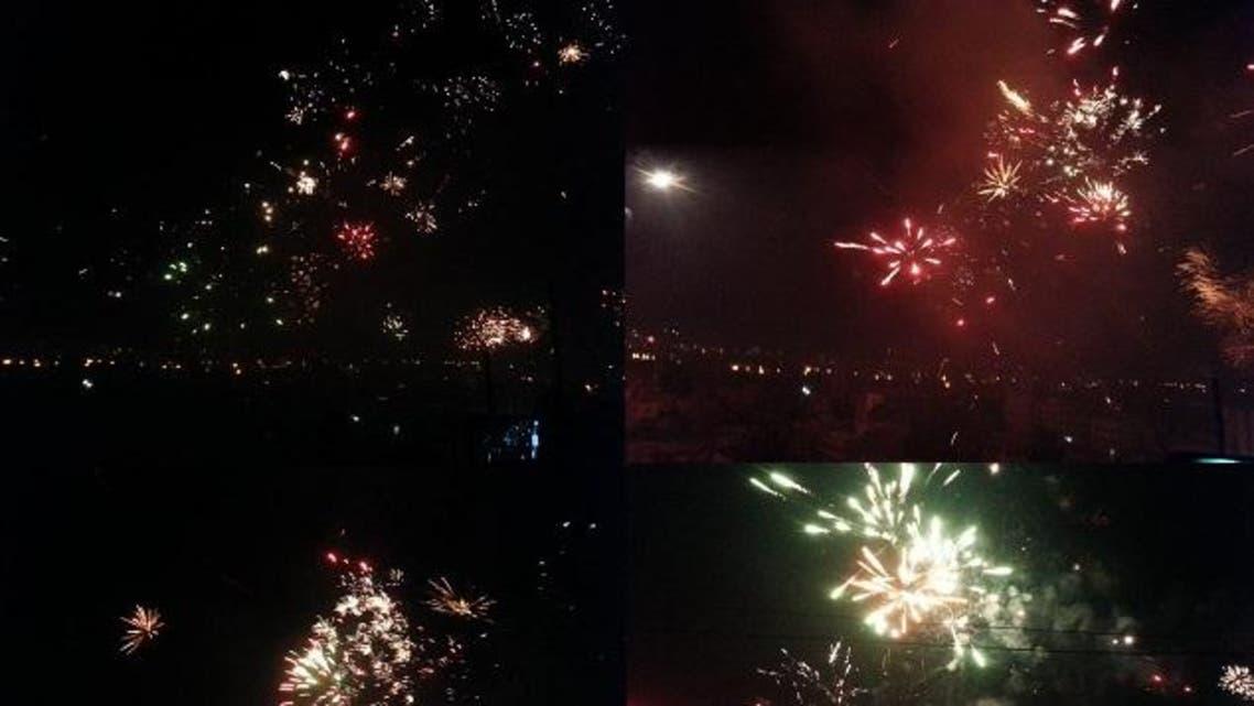 احتفالات والعاب نارية في اليمن