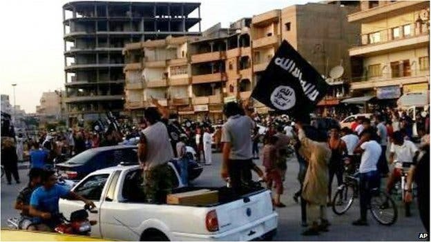 Islamic State fighters have carved out a power base in the Syria town of Raqqa