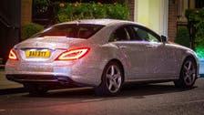 Swarovski-encrusted Mercedes glistens through London