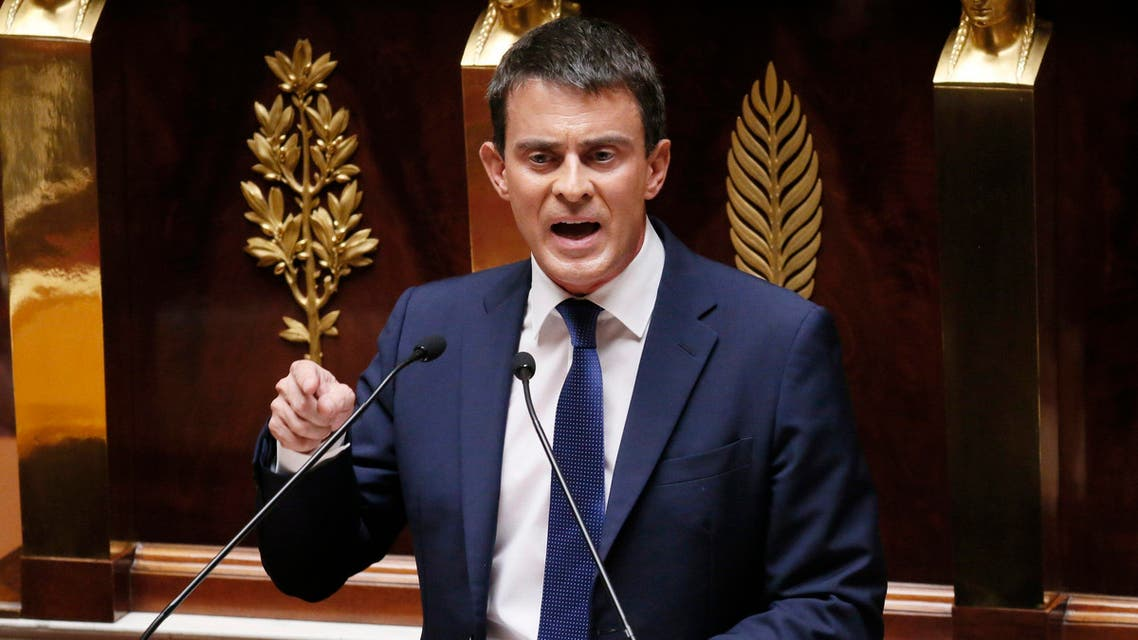 french pm Manuel Valls reuters