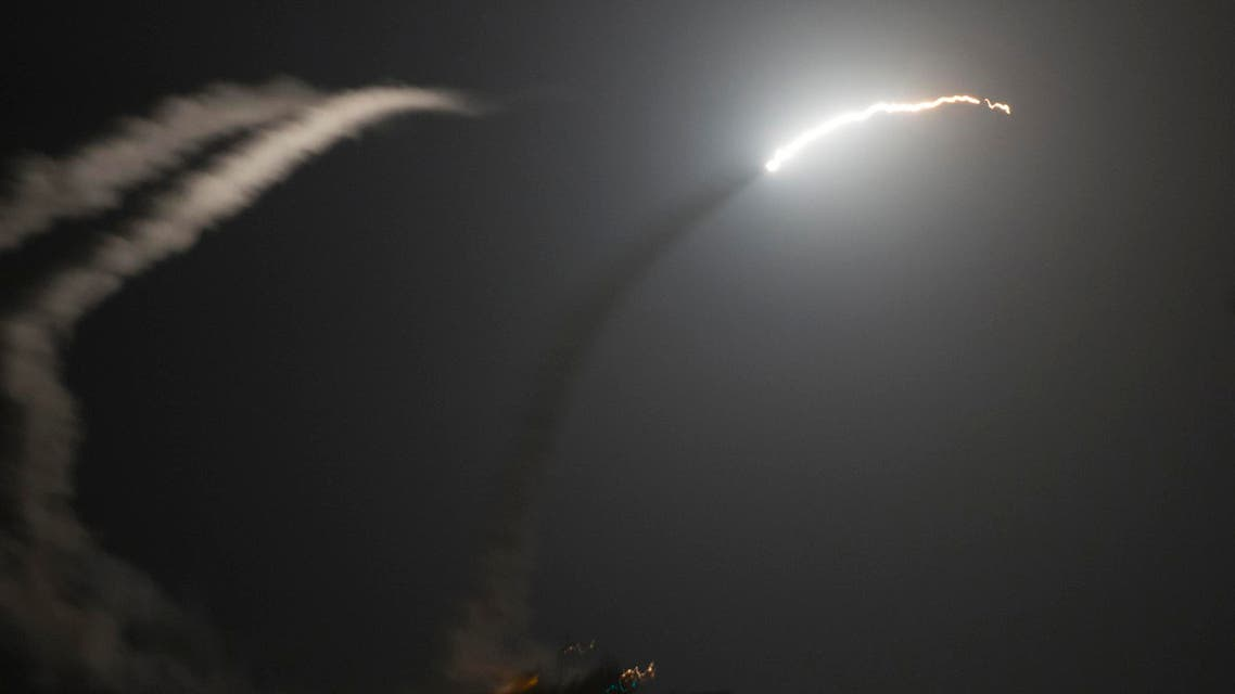 الحرب الضربات ضربات على ضد داعش سوريا العراق قصف