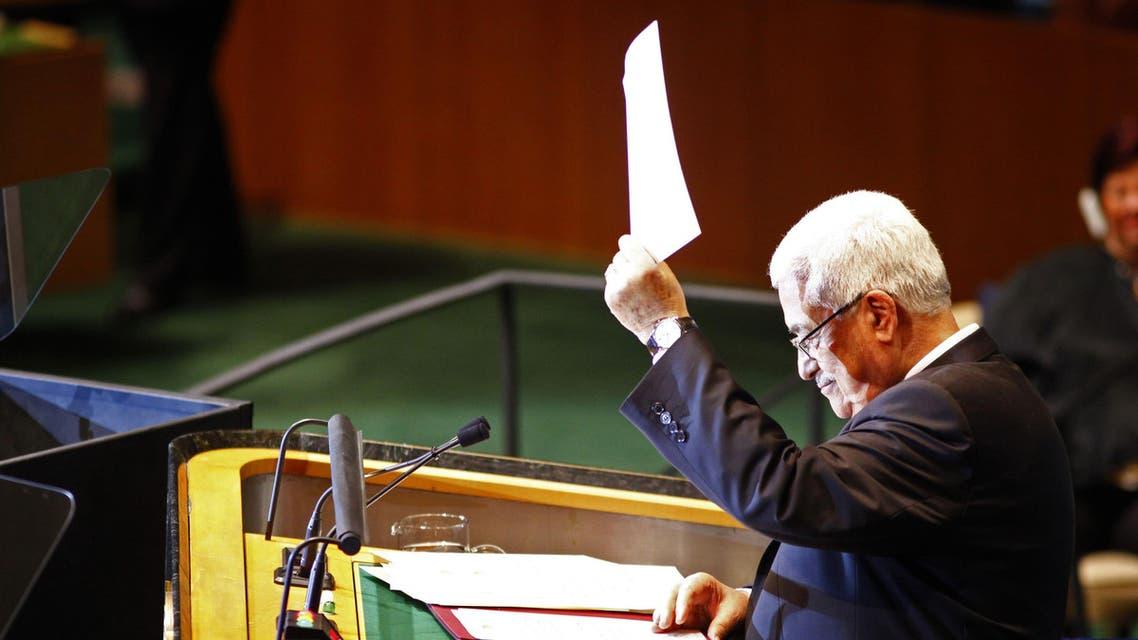 Abbas United Nations UN reuters