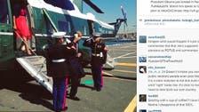 Blunder? Obama's 'tea cup salute' sparks Twitter rage