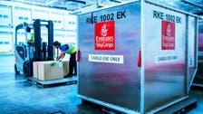 الإمارات للشحن تدشن حاويات للتحكم بدرجة الحرارة