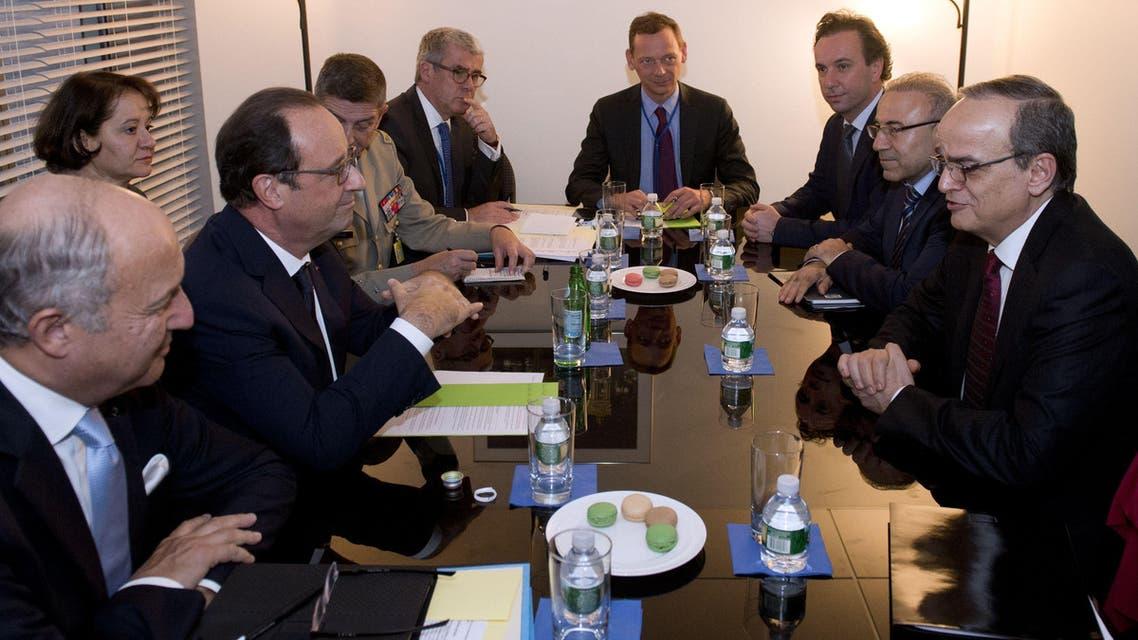فرنسا والائتلاف السوري 3