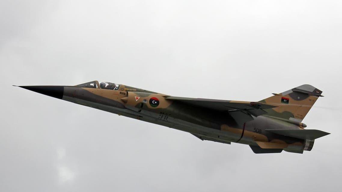 libya war plance air force (photo courtesy: planespotter.net)