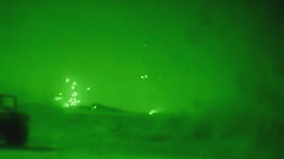 THUMBNAIL_ قصف مصفاة نفطية يسيطر عليها داعش في شرق سوريا