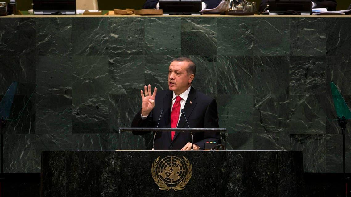 Erdogan rabaa UN assembly Egypt turkey REUTERS