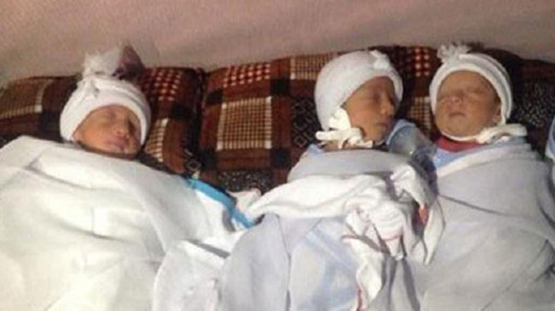 أيزيدية تلد 3 توائم وتمنحهم أسماء تعكس مأساة شعبها