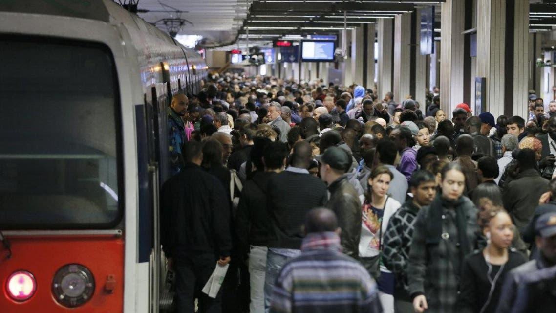 Subway reuters paris