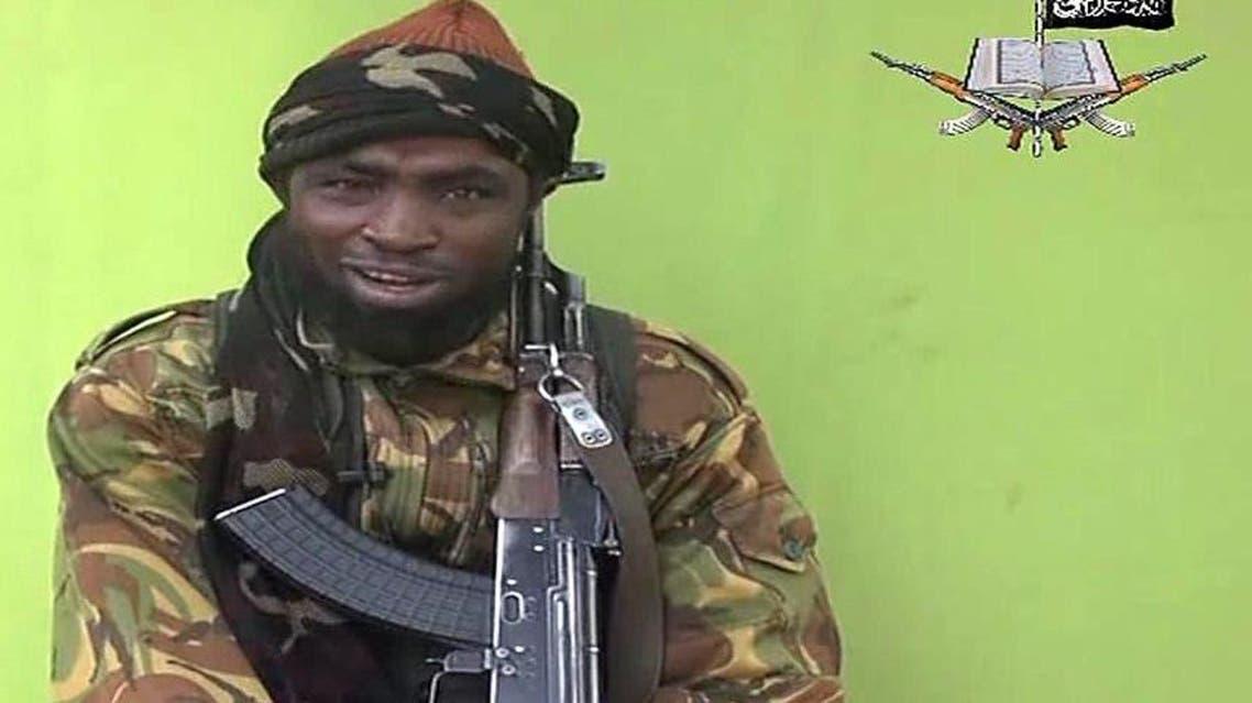 """زعيم جماعة """"بوكو حرام"""" المتطرفة أبوبكر شيكاو"""