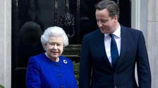 Cameron red-faced over Queen 'purring' remark