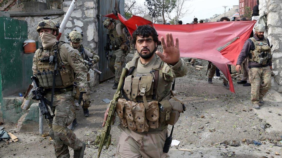 قوات امنية في افغانستان