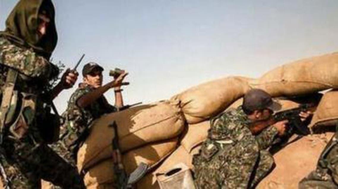 مقاتلو وحدات حماية الشعب الكردي