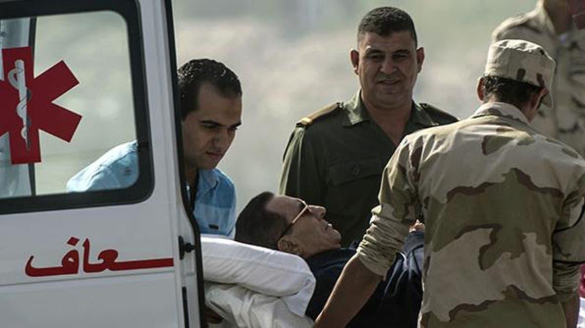 نقل مبارك من مقر المحكمة