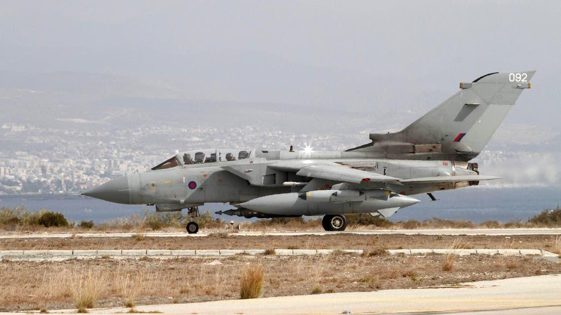 مقاتلات بريطانية تصل إلى العراق