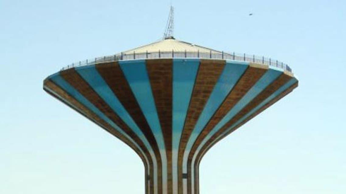 خزان مياه في الرياض