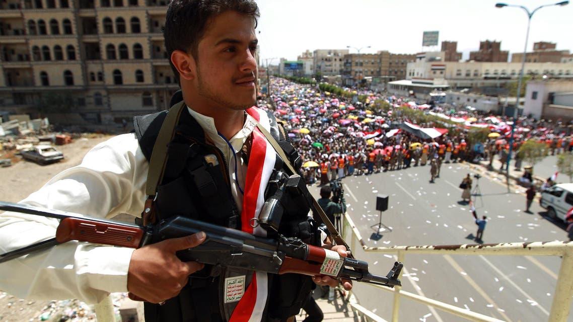 Yemen supporter of Shiite Huthi rebels  Sanaa AFP