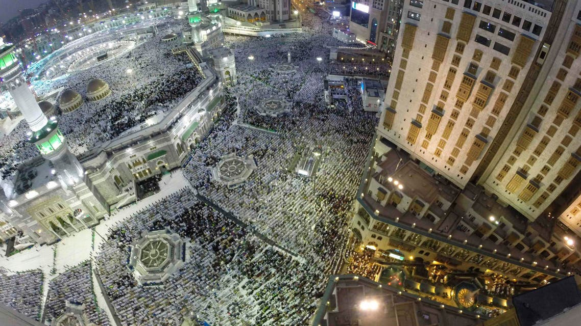 Muslim pilgrims pray around the holy Kaaba at the Grand Mosque during the annual Haj pilgrimage in Mecca September 27, 2014. (Reuters)