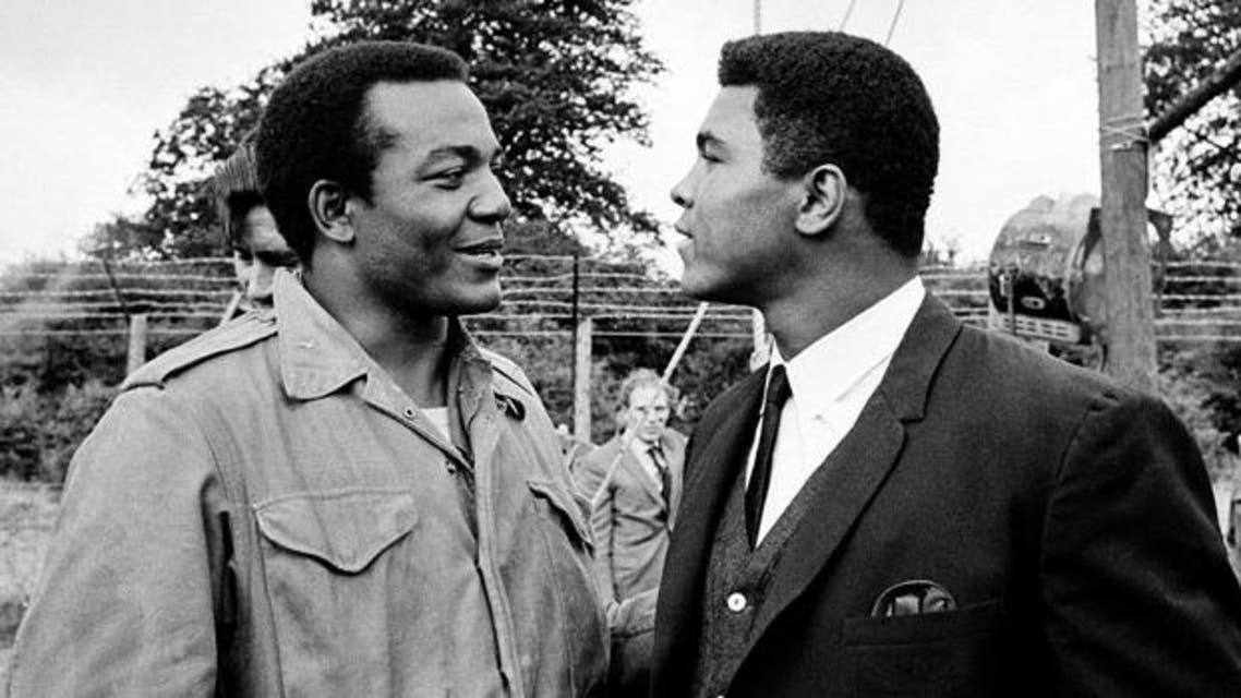 Jim Brown (left) and Muhammad Ali were friends who nearly became foes in the ring.
