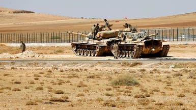 تركيا تنشر دبابات على حدود العراق