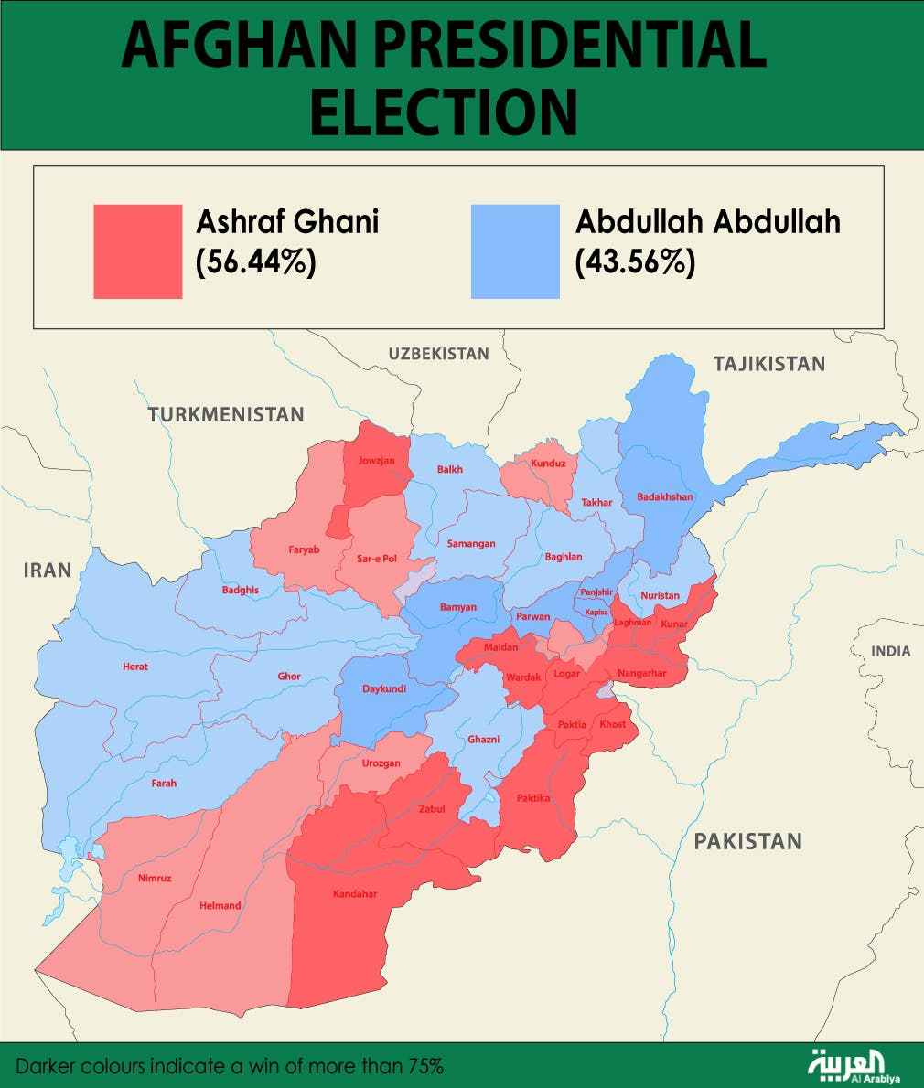 Infographic: Afghan presidential election