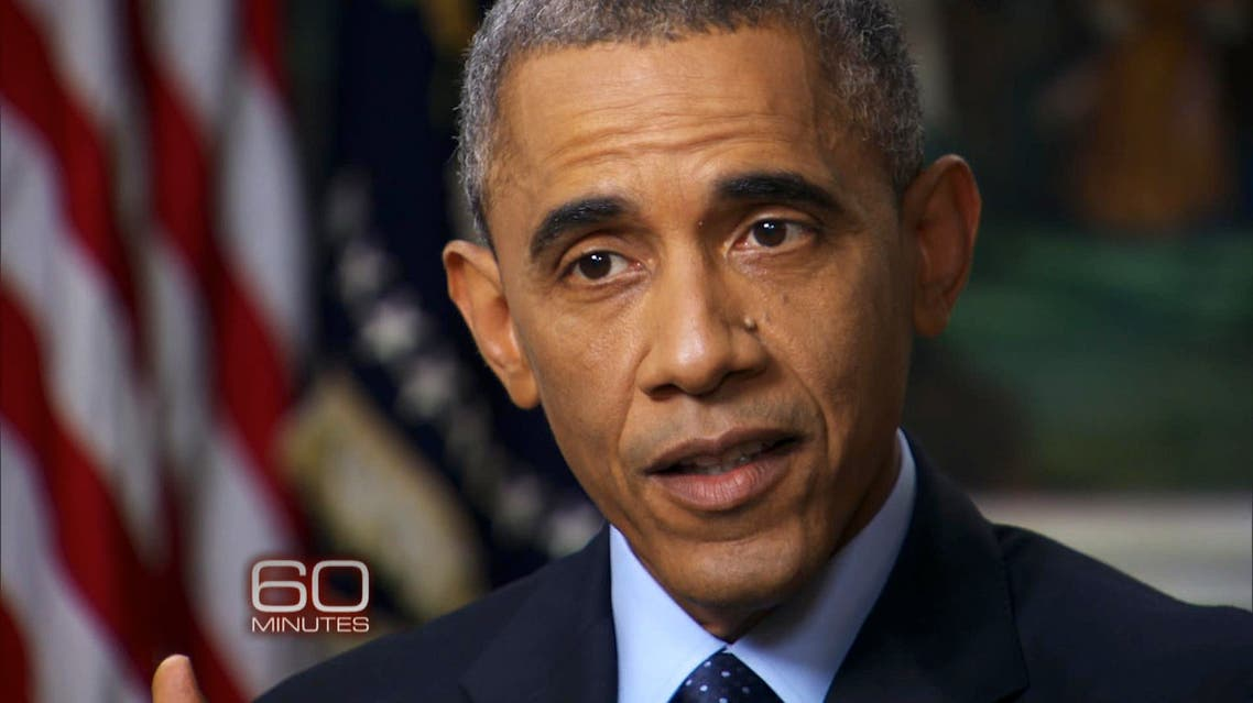 President Obama also admitted that Washington had overestimated Iraq's U.S. trained military to fight militants. (Photo courtesy: CBS News)