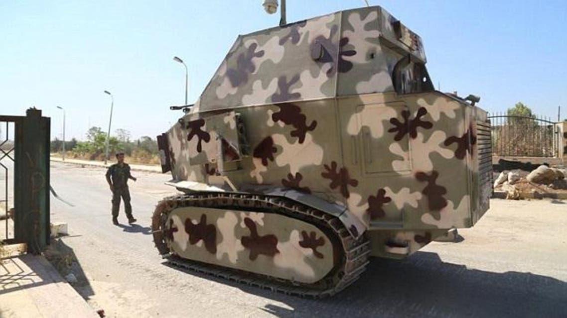Kurdish tanks
