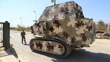 Kurdish fighters build makeshift tanks in defense against ISIS