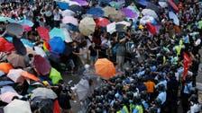 'Umbrella Revolution' protests spread in Hong Kong