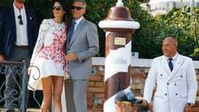 Amal Alamuddin's 'that dress' designer revealed