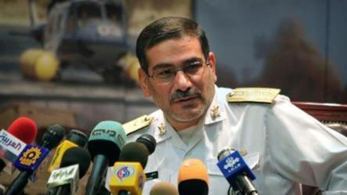 الأمين العام لمجلس الأمن القومي الإيراني، علي شمخاني