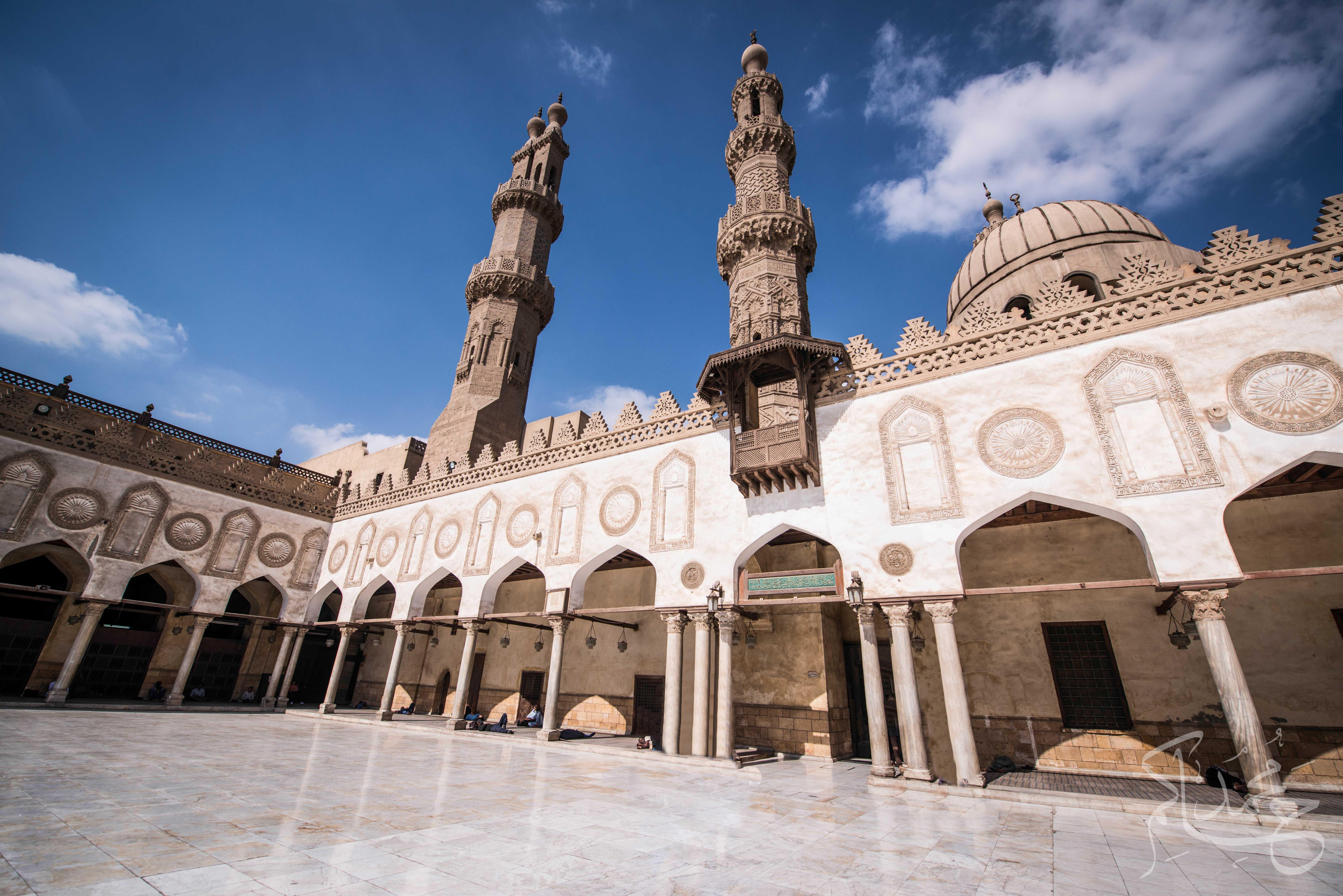 Al Azhar Mosque. (Image Credit: Mohamed Hakem, via egyptianstreets.com)