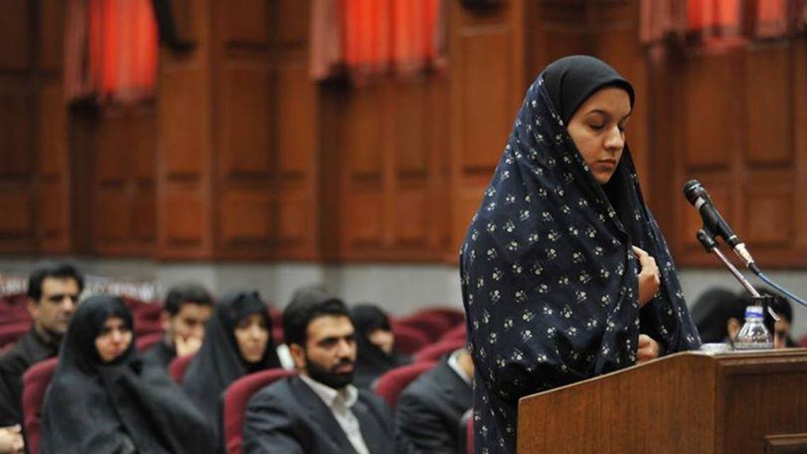 A Tehran court found Reyhaneh Jabbari guilty in 2009 of killing a former employee of the Iranian Ministry of Intelligence. (Photo courtesy: apa-ice.org)