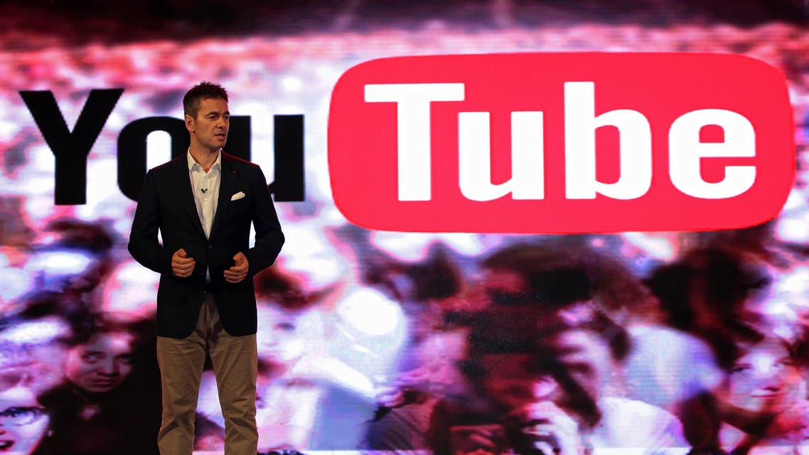 Head of Content and Operations for YouTube Robert Kyncl speaking at the event. (Ogilvy)