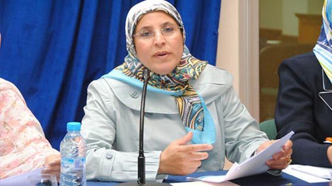 بسيمة حقاوي وزيرة التضامن
