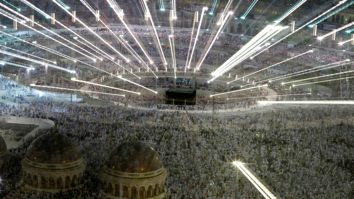Muslim pilgrims pray around the holy Kaaba at the Grand Mosque, during the annual hajj pilgrimage in Mecca September 27, 2014. (Reuters)