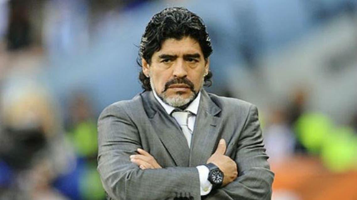 Diego Maradona. - AFP