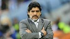 Palestinian football body quashes Maradona 'rumor'