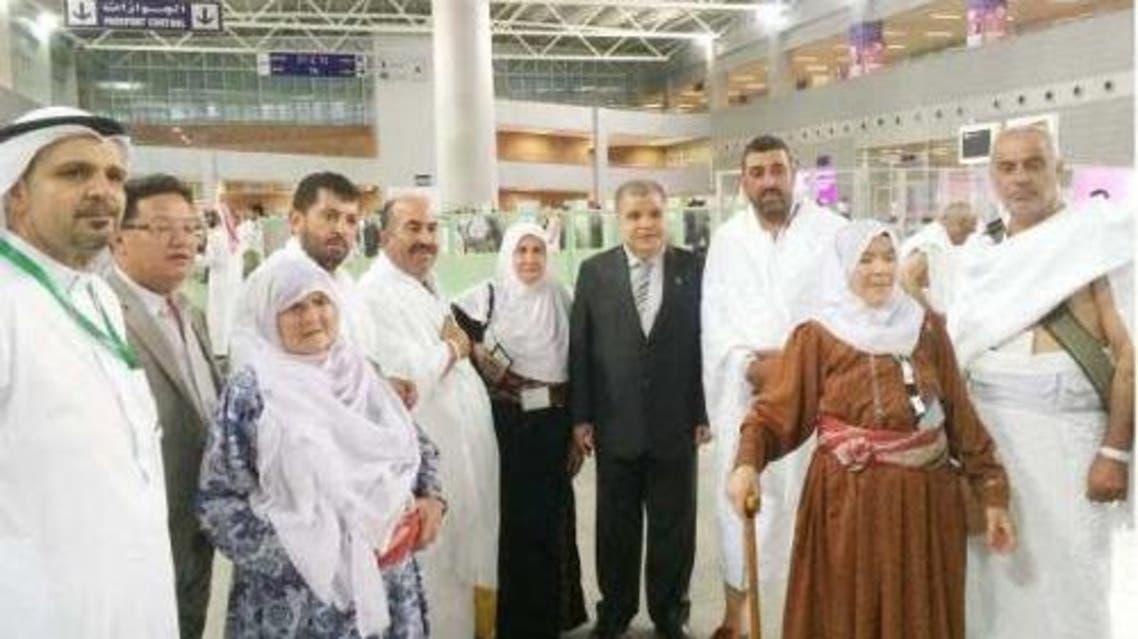 palestinian cg with pal pilgrims