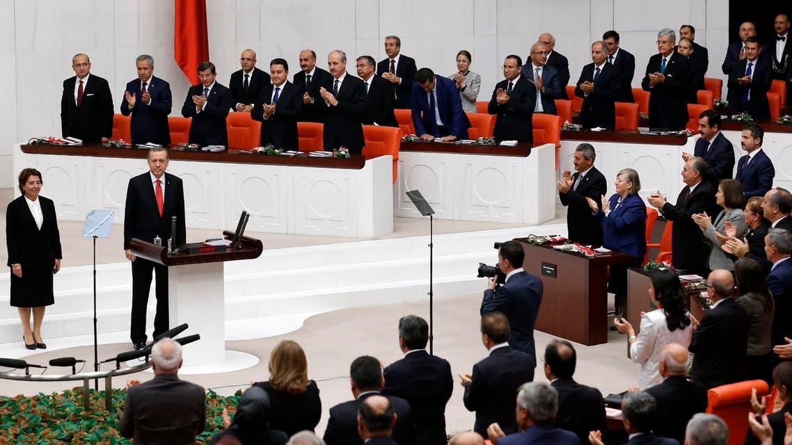 البرلمان التركي turkey parliament