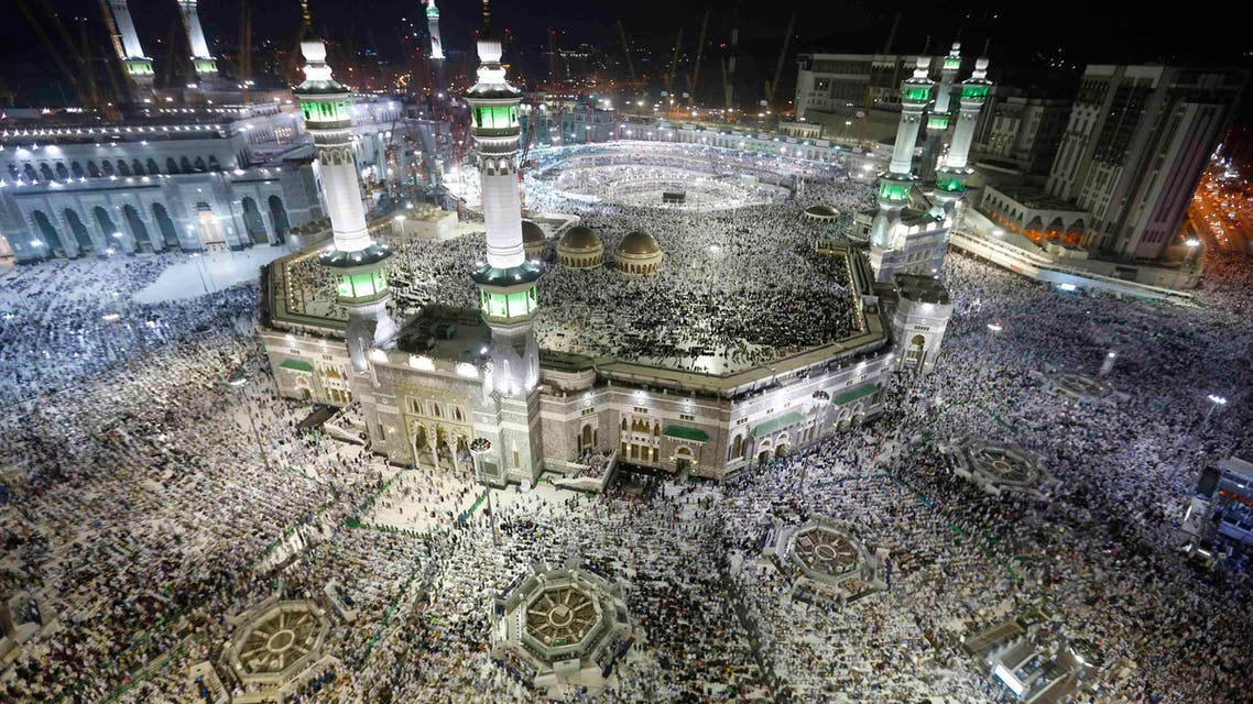 Muslim pilgrims pray around the holy Kaaba at the Grand Mosque, during the annual hajj pilgrimage in Makkah September 27, 2014. (Reuters)