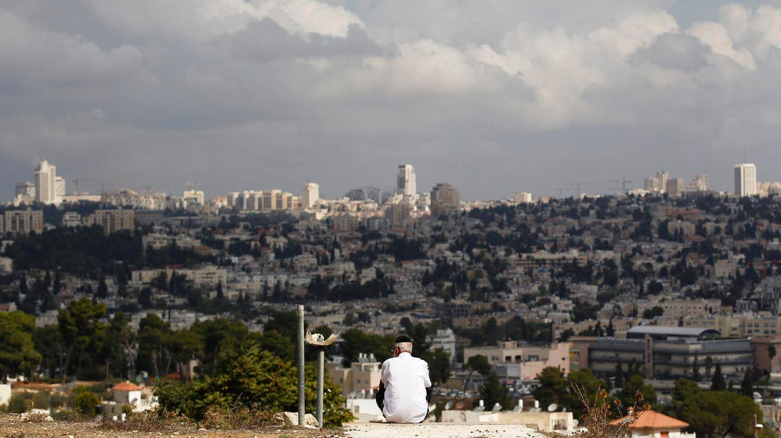 The southern fringes of Jerusalem's city limits where according to a watchdog Israel decided to move forward on a settler housing project slated for construction since 2012, October 2, 2014. (Reuters)