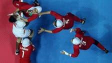 Iranian women aim high in combative sport kabaddi