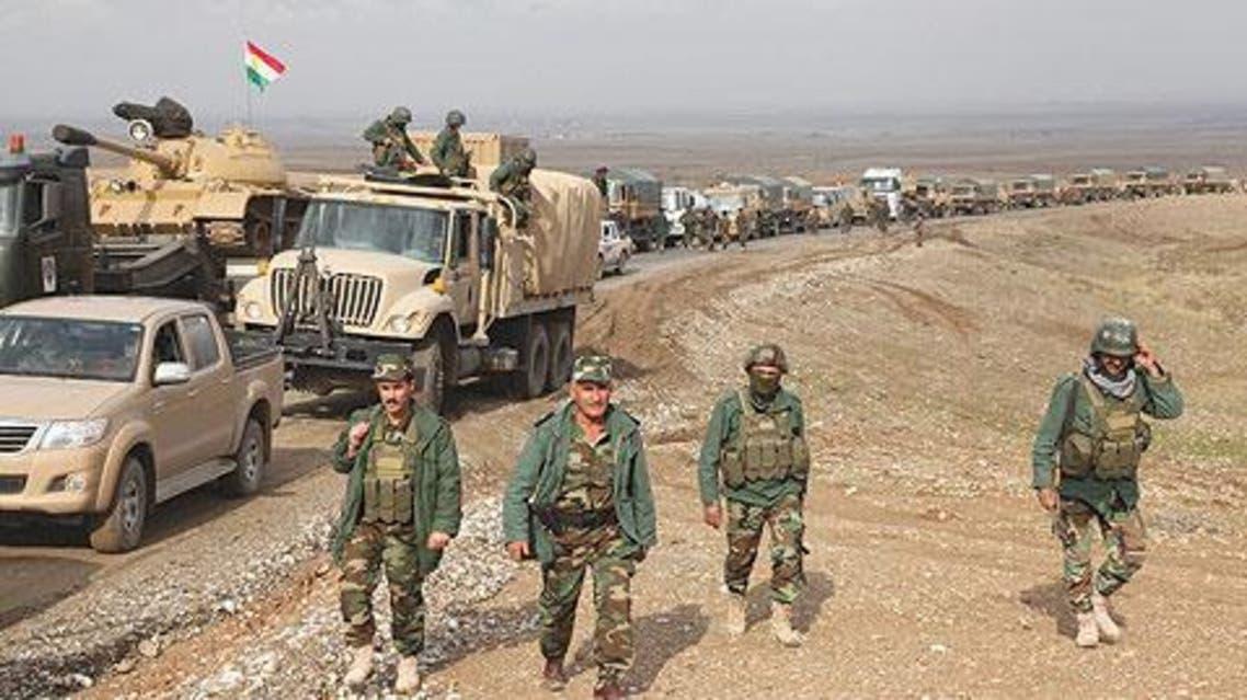 عناصر من قوات البيشمرغة بيشمركة بشمرغة بشمركة