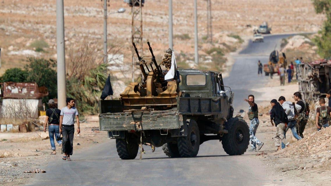 مقاتلو المعارضة السورية