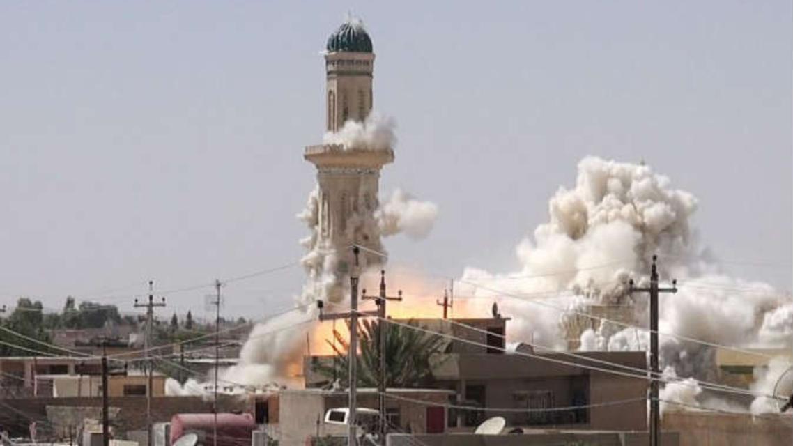 تدمير اثار ثقافية في العراق
