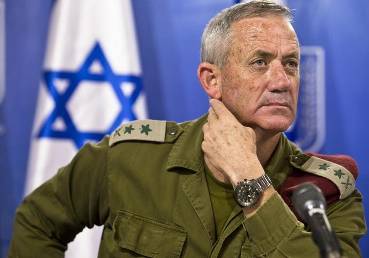 IDF Chief of Staff Lt.-Gen. Benny Gantz. (photo credit:REUTERS)