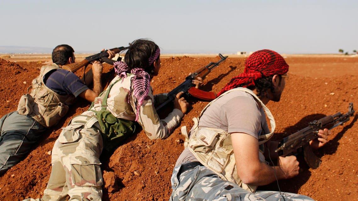 مقاتلون مقاتلين في المعارضة السورية